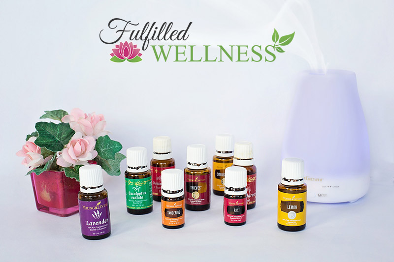 Essential Oils with a Diffuser