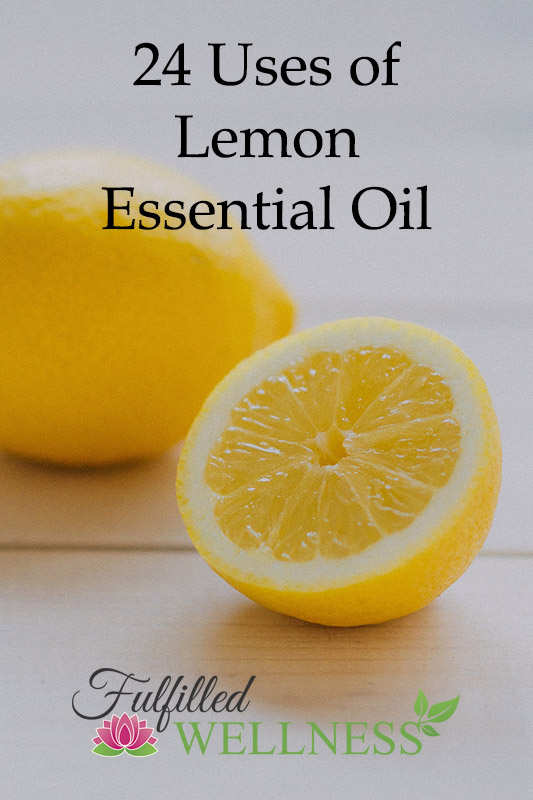 24 Uses of Lemon Essential Oil