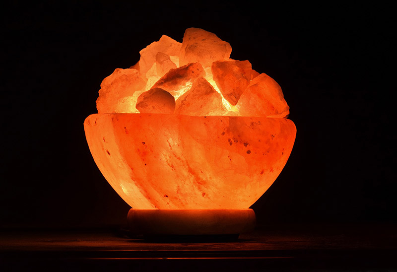 Himalayan Salt Lamp Fire Bowl