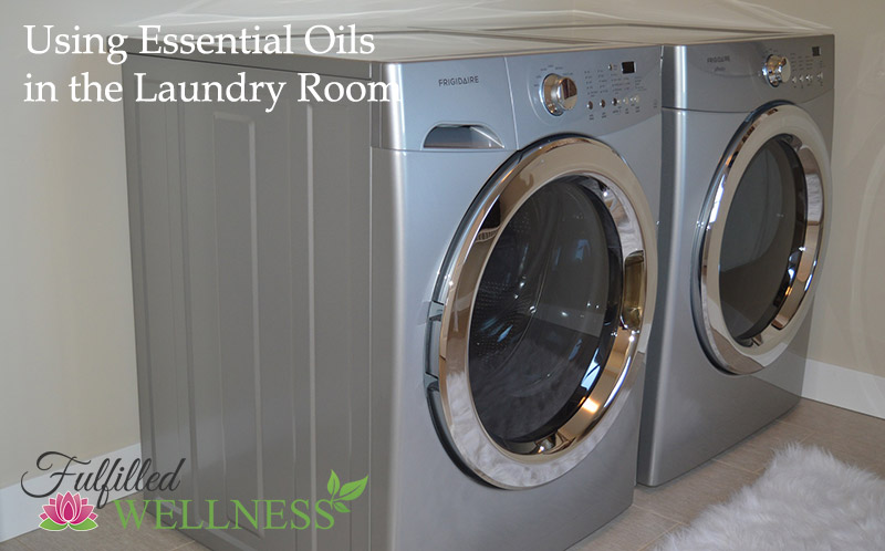 Essential Oils in the Laundry Room