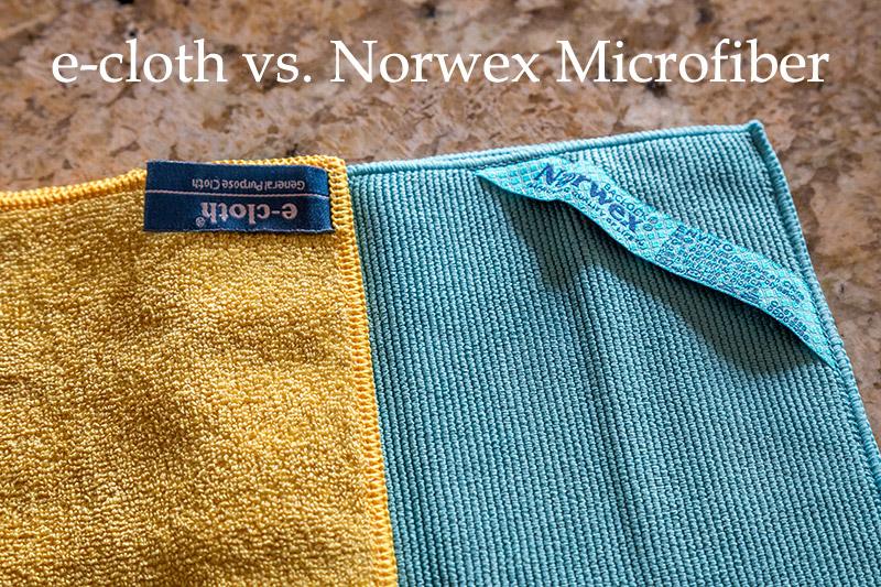 ecloth vs Norwex Microfiber