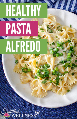 Healthy Pasta Alfredo Recipe