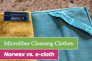 Norwex vs. e-cloth