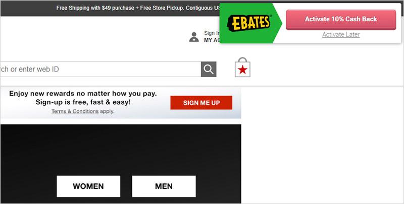 Ebates Browser Extension