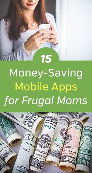 Mobile Apps for Frugal Moms