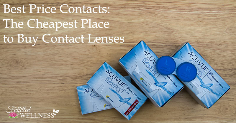 Best Price Contacts: The Cheapest Place to Buy Contact Lenses