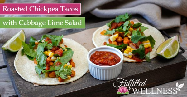 Roasted Chickpea Tacos Recipe