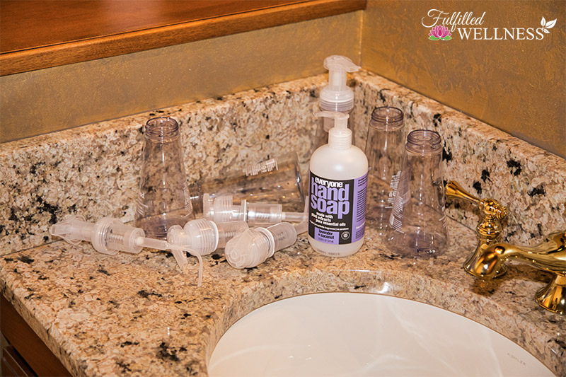 DIY Foaming Hand Soap Supplies